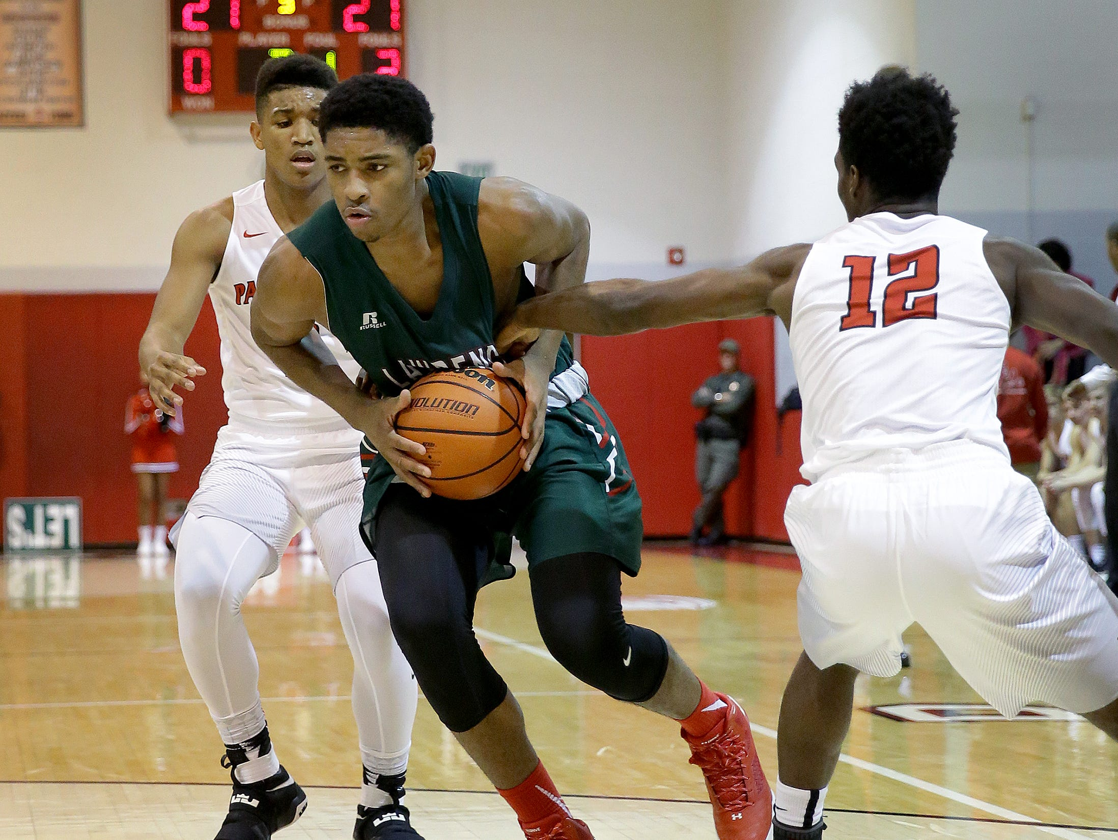 Lawrence North's Kevin Easley (34) will make his first official visit this week.