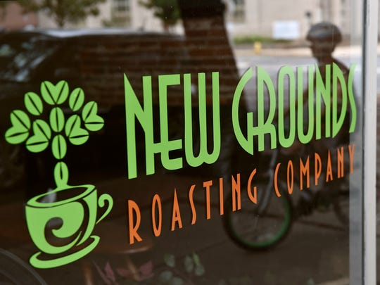 New Grounds Roasting Company on West Market Street in York, Thursday, July 27, 2017.