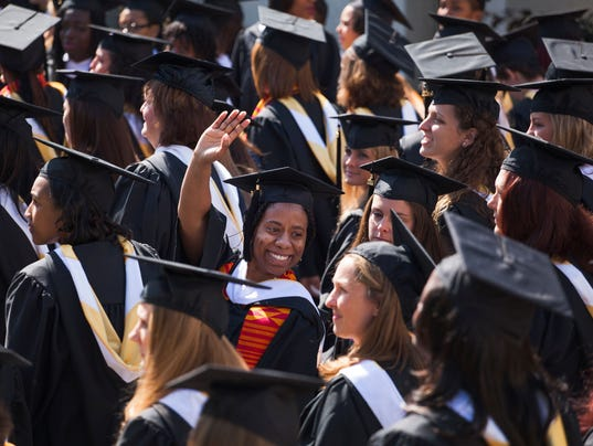 Mary Baldwin College graduation