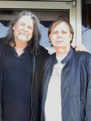 Award-winning country music songwriter Dave Gibson, left, and fellow songwriter and business partner Carl Conge of Walworth, have released a music video tribute to Vietnam veterans. Conge served in the Army in various assignments for nearly 30 years.