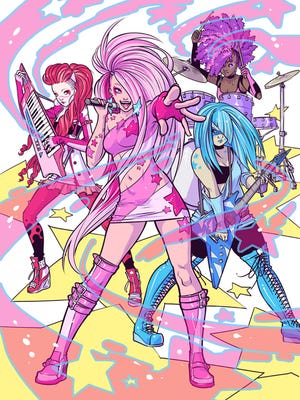 Jem and the Holograms receive a modern reinvention in the new IDW comic book.
