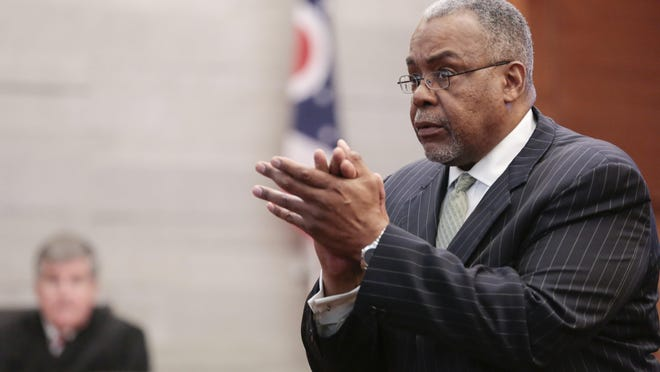 Defense attorney Frederick Benton is a member of the working group developing guidelines for a citizen police review board in Columbus. The police union has demanded Benton's removal from the group because he represented a man convicted of killing two Westerville police officers.