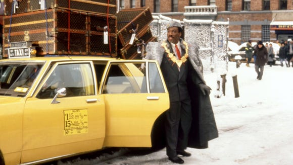 Eddie Murphy stars in the 1988 comedy 'Coming to America.'