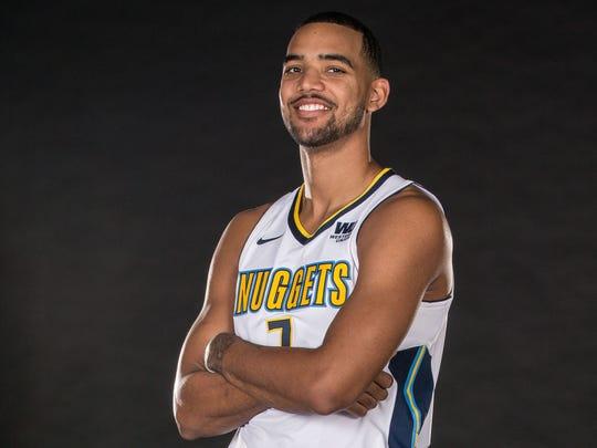 Denver Nuggets power forward Trey Lyles (7)