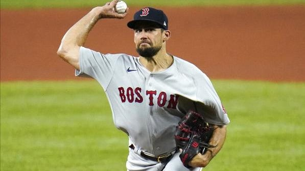 Nathan Eovaldi returned to the mound for the Red Sox on Saturday.