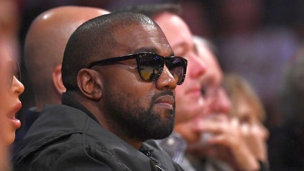 Rapper Kanye West announced he's running for president Saturday night on Twitter.