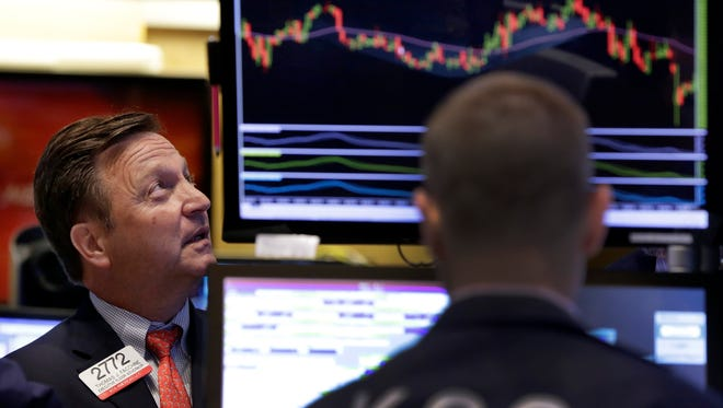 Traders on the floor of the New York Stock Exchange back on FSept. 1, 2015.   (AP Photo/Richard Drew, File)