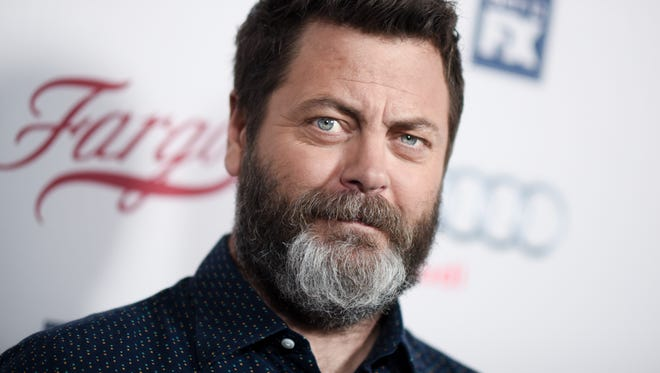 Nick Offerman: Webbys host, self-described Luddite.