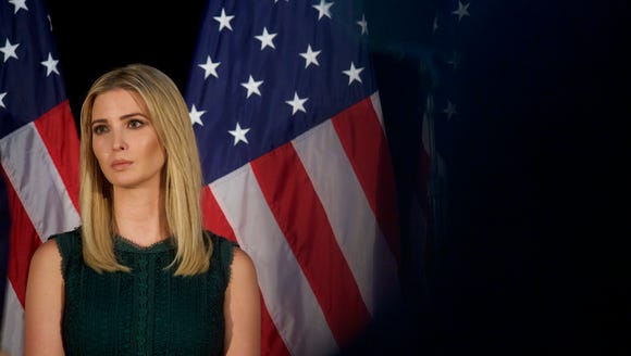 Ivanka Trump is pictured Sept. 13, 2016 in Aston, Pa.