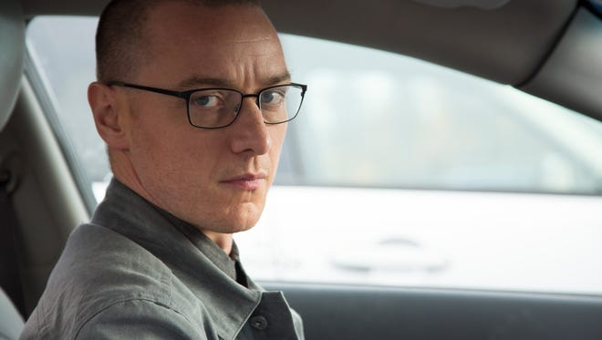James McAvoy stars as a man with 23 distinct personalities in M. Night Shyamalan's 'Split.'