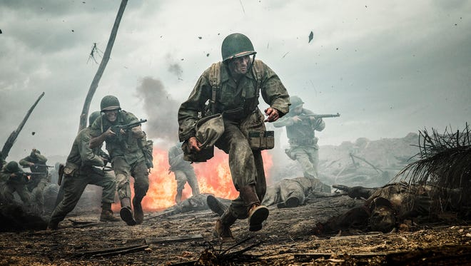 Andrew Garfield stars as a heroic medic in the World War II drama 'Hacksaw Ridge.'