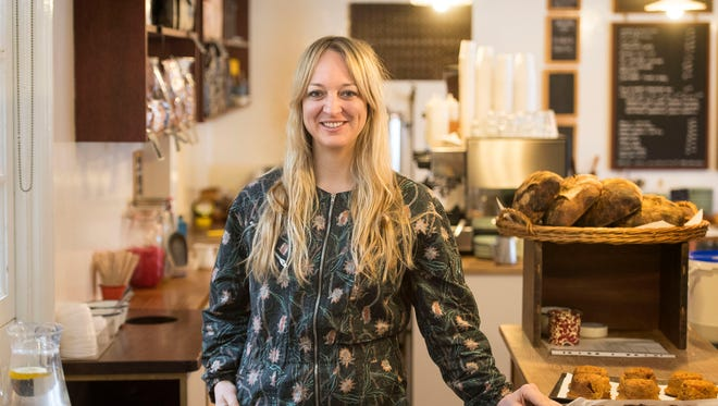 Claire Ptak, owner of Violet Bakery in east London Tuesday, will design the wedding cake for Prince Harry and Meghan Markle.