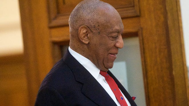 Bill Cosby on April 26, 2018, the day he was convicted of sex-assault charges at Montgomery County Courthouse in Norristown, Pa.