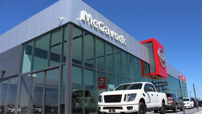 The new McGavock showroom is full of glass, with selected models parked outside. The dealership moved from Winters Freeway in southwest Abilene to off Interstate 20 in northeast Abilene.