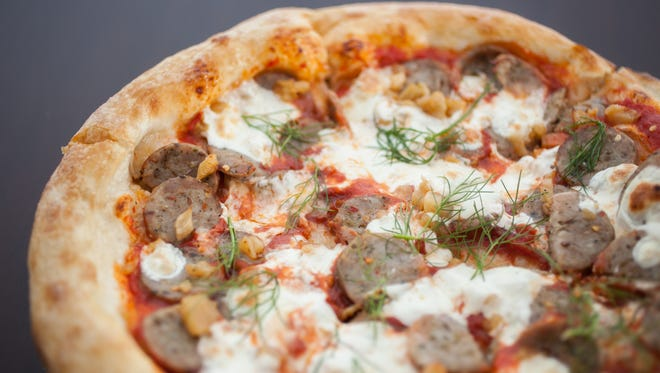 Humble Pie has pizzas that appeal to children and adults, and also has pasta.
