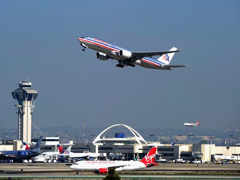With busy flight schedules and size restrictions on larger aircraft, Los Angeles International Airport is among the nation's most challenging for air traffic controllers.