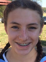 Union County sophomore Kourtney Lucas finished fifth in Saturday's 2-A regional cross country meet in Owensboro and qualified for next week's state meet in Lexington.