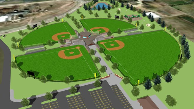 Kaukauna Youth Baseball plans to build a $3 million baseball complex at the southeast corner of State 55 and Calumet County KK in Harrison.