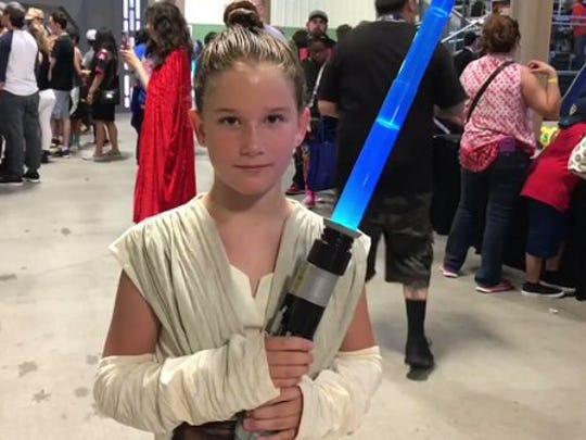 She is Rey! #StarWars #VivaCC