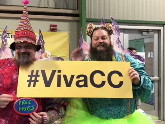 The fairy brothers from Houston try to go to as many #ComicCons as they can! #VivaCC @CCTXcomiccon