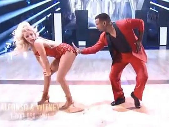 Alfonso and Witney are all about the 'Booty.'