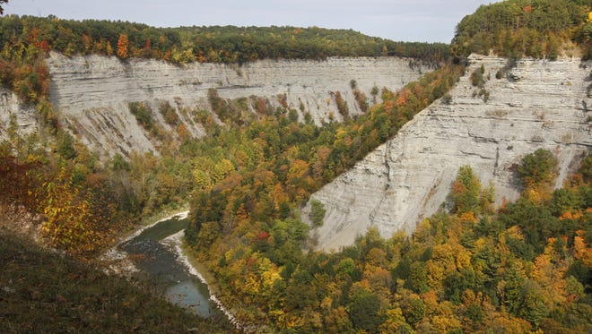 Letchworth State Park in Mount Morris on Oct. 3, 2013.