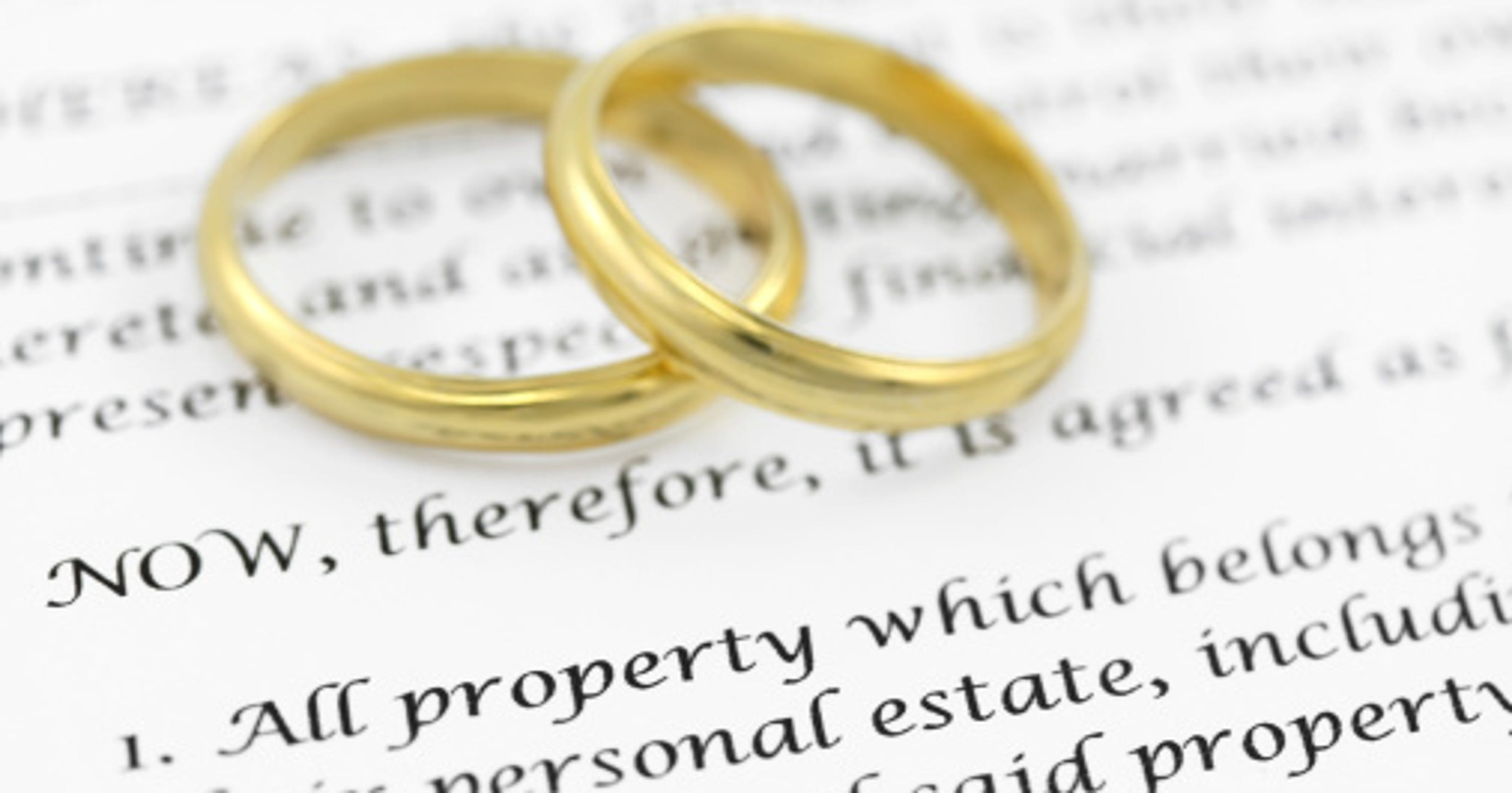 Prenups Not Just For The Wealthy