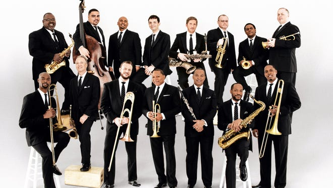 Led by trumpeter Wynton Marsalis, the Jazz at Lincoln Center Orchestra features Greenfield High School graduate Dan Nimmer.