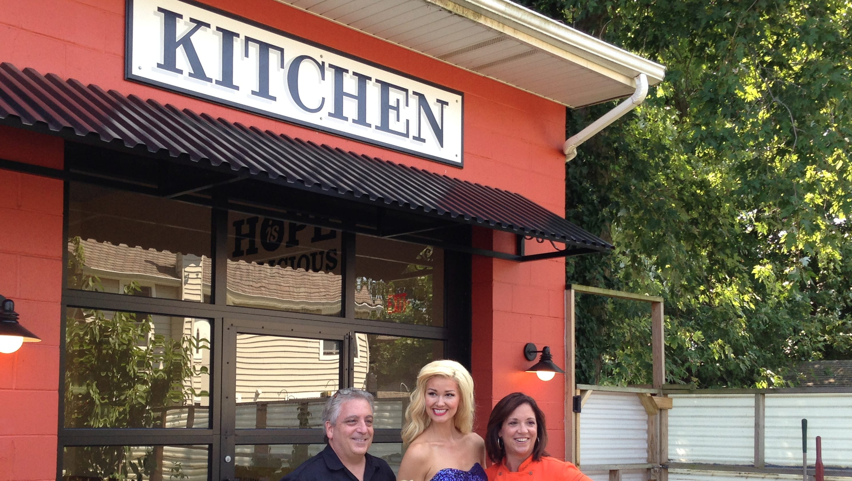 Mermaid visits Jon Bon Jovi Soul Kitchen