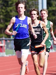 Lakeland's Drew Wenger will transition from the track
