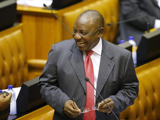 South Africa New Leader