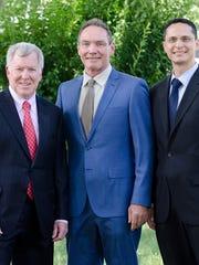 Democratic incumbents in the 38th District: Sen. Robert Gordon and Assemblymen Tim Eustace and Joseph Lagana.