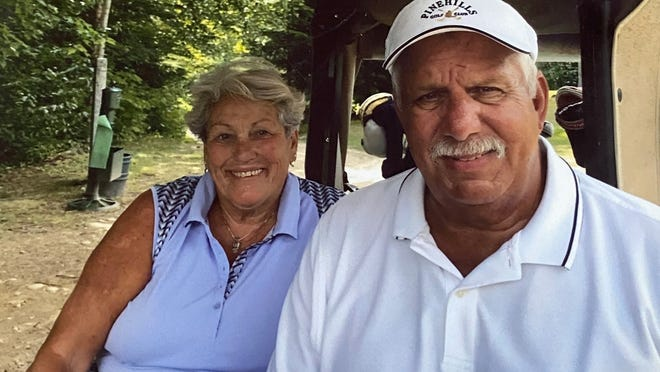 Frank and Barbara Costa both sank their first-ever hole-in-one within 24 hours of each other earlier this month at the Squirrel Run Golf Course. Both Aces happened on the very same hole.