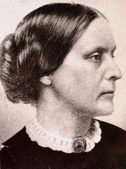 Susan B. Anthony was born in 1820, organized the National