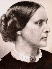 Susan B. Anthony organized the National Women's Suffrage Association in 1869 and visited Lafayette two years later.
