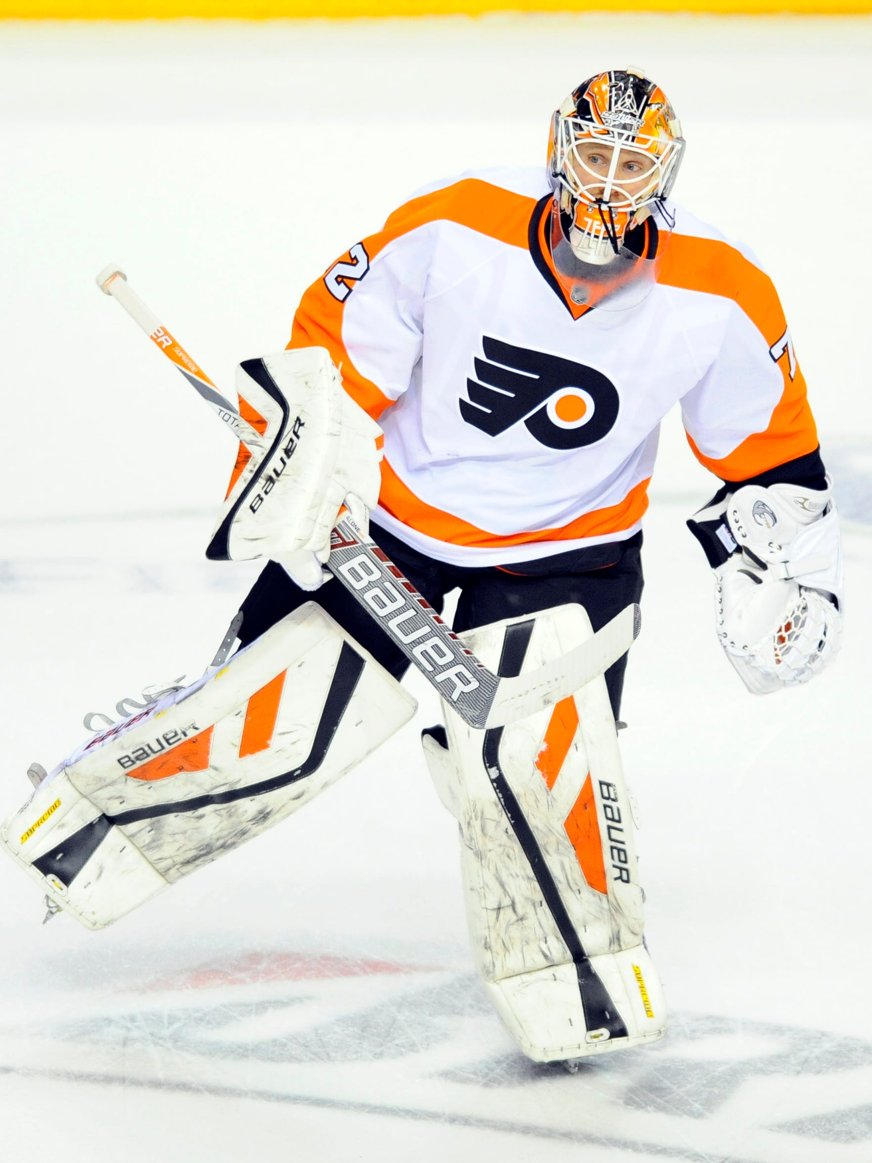 Flyers Turn To Rob Zepp In Net Coach Likes His Energy