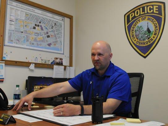 Joe LeMire, UW-Oshkosh Police Chief will be leaving