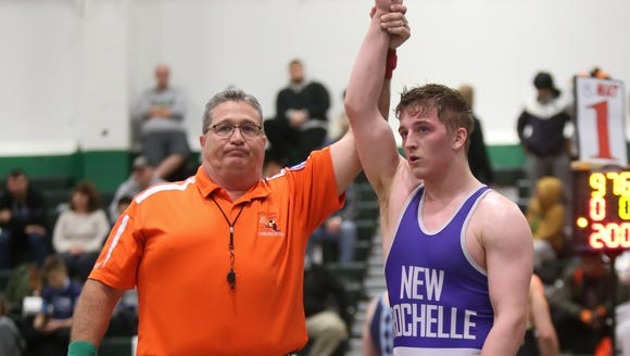 New Rochelle's Jake Logan defeats Horace Greeley's