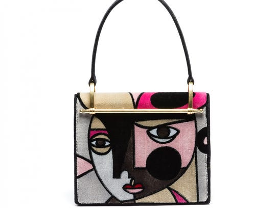 This bag by Prada is a true work of art.