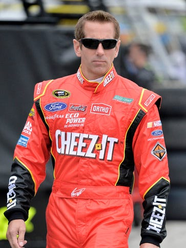 Greg Biffle finished second in the Coca-Cola 600 for