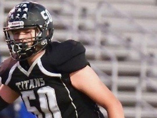 Dominion High School offensive lineman Jimmy Christ (Photo: 247Sports)