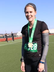Amanda Lohss was the top female finisher in the Spartan