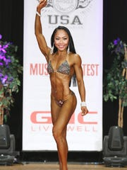 Rhea Macaluso competed in the 2016 International Federation of Bodybuilding and Fitness Orange County Muscle Classic on Aug. 13, which qualified her for the Nationals in November in Miami. She took first place in the Novice Bikini A division and second place in the unlimited A division.
