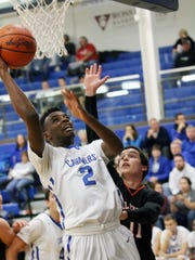 Chillicothe's Branden Maughmer scores in a contest