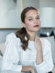 """""""I haven't done the action scenes before"""" playing Lara Croft, says Alicia Vikander. """"It was like, 'I want to do that, too.' """""""