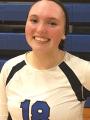 Lakeland senior setter Kaitlyn Hawke had 43 assist-to-kills