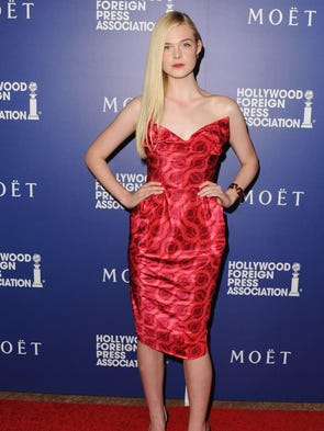 Elle Fanning celebrated Madonna's birthday in 'Material ...