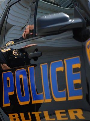 Butler police vehicle.