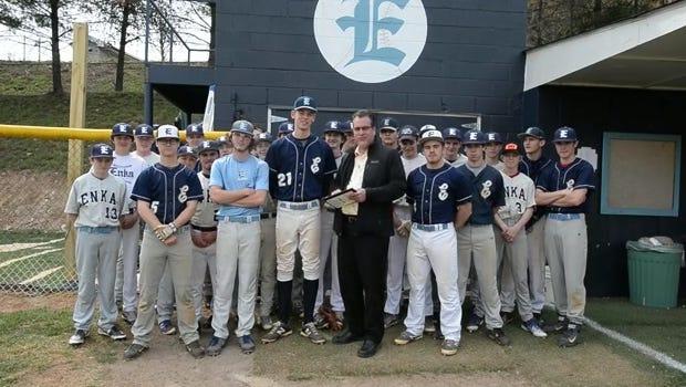 Enka baseball player Jack Ponder is the latest winner of the Mission Health Spotlight Performance of the Week award.