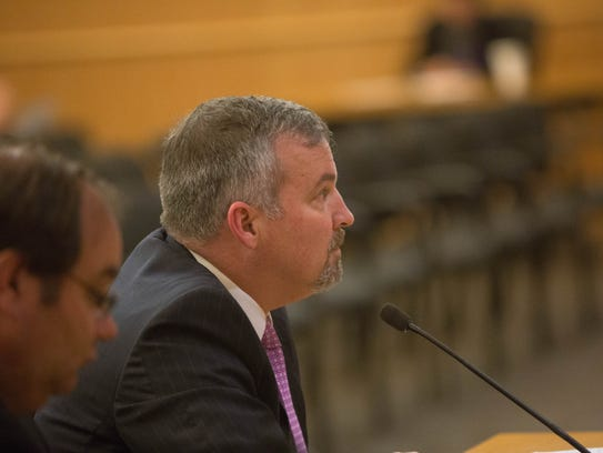 Chuck Mahon was named the new interim county manager